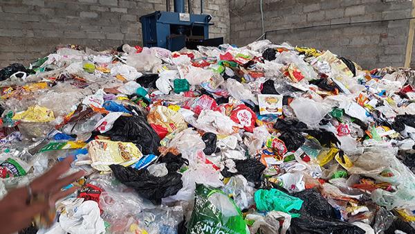 Post-Consumer Mix Plastic waste